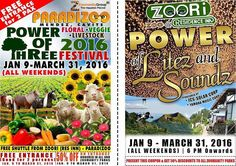 blah blah blah (Rants and Raves of a Bum): Invitation to Paradizoo's Annual Power of Three Festival