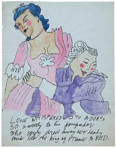 Andy Warhol, Love is a Pink Cake #warholatchristies