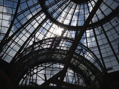 La cabane perchée s'élève progressivement vers le ciel... #GrandPalais