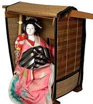 japanese geisha doll, 1920's