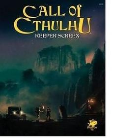 Call of Cthulhu Keeper Screen (Call of Cthulhu Roleplaying)