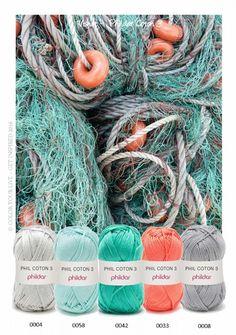 Phil Coton 3 kleurinspiratie pakket Visnet