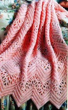 VICTORIAN LACE AFGHAN PATTERN