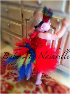 Parrot Costume Tutu for Girls Baby to 2T. $42.00, via #Cute Baby #cute kid| http://cute-kid-jacynthe.blogspot.com