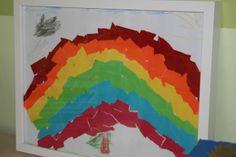 Somewhere over the Rainbow Somewhere Over, Over The Rainbow, Flag, Painting, Art, Catapult, Rain Bow, Handarbeit, Ideas