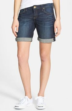 KUT from the Kloth 'Catherine' Boyfriend Shorts available at #Nordstrom