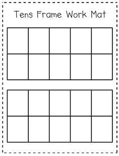 Cuddle Bugs Teaching: Math Mats and Addition/Subtraction Facts Wkst Preschool Math, Math Classroom, Teaching Math, Math Activities, Teaching Kindergarten, Maths, Ten Frame Activities, Teaching Resources, Kindergarten Anchor Charts