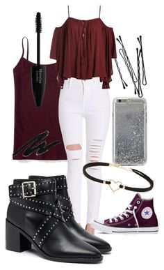 """""""My Style is On Point"""" by krgarcia46 on Polyvore featuring Agent 18, Aéropostale, Forever 21, Senso, BOBBY, Converse and Sans Souci"""