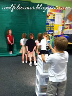 **Wolfelicious**: Do you make movie with your class?