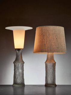 Pair of Timo Sarpaneva Table Lamps for Iittala, Finland, 1960s 2