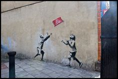 one day i would like to meet this banksy fellow