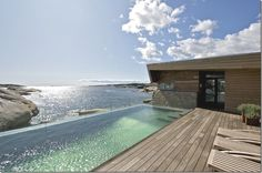 Beautiful infinity pool