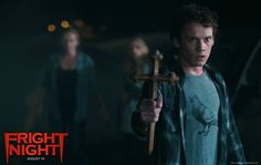 Watch Streaming HD Fright Night, starring Anton Yelchin, Colin Farrell, David Tennant, Toni Collette. A teenager suspects that his new neighbor is a vampire. #Comedy #Horror http://play.theatrr.com/play.php?movie=1438176