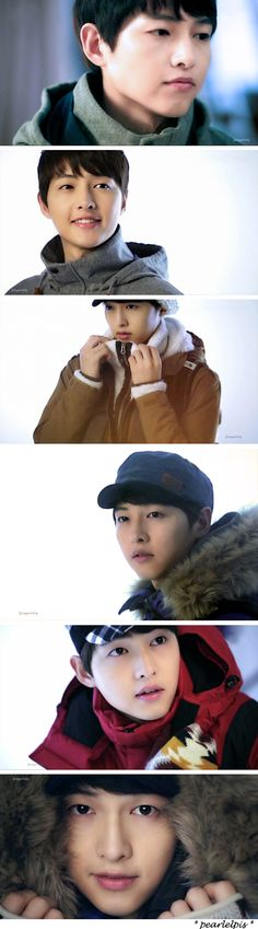 Song Joong Ki : New TVCF of The North Face White Label F/W Collection 2013