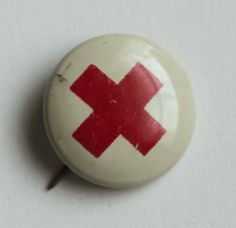 This was exciting to have your own Red Cross Pin in the 1950's.