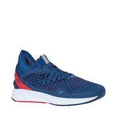 Puma Ignite Netfit sneakers #fitness #sneakers #Puma #blauw #heren #netfit #wehkamp