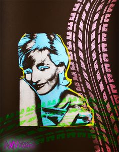 DOA Diana by Monica Warhol What? Don't you understand Haters! Warhol, Doa, Joker, Celebrities, Fictional Characters, Chiaroscuro, Celebs, The Joker, Fantasy Characters