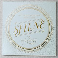 branding + logo + typography + lettering + gold