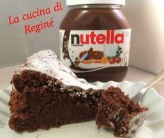 #Torta di Nutella# La cucina di Reginé