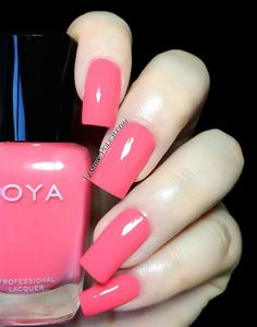 Fashion Polish: Zoya Summer 2014 Tickled collection Wendy