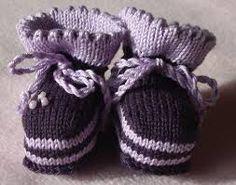 Bildergebnis für babyschuhe stricken anleitung