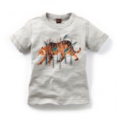 Check out this awesome tiger tee inspired by India. Shop the Tea collection at Style Child in San Diego. Stylechild.com