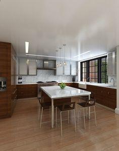 Brooklyn Heights modern kitchen