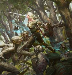Ciri the Witcher The Witcher Game, The Witcher Books, Witcher 3 Wild Hunt, Ciri Witcher, Witcher Art, High Fantasy, Medieval Fantasy, Witcher Monsters, Witcher Wallpaper