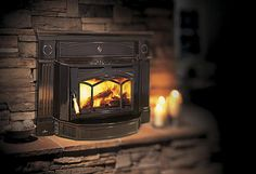 wood stove for new home - Google Search