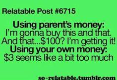 Yeah I'm cheap