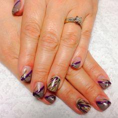 My new nails.  Love them!