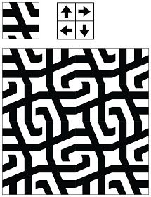 Adaptive Rugs & Tile Spin: The Curse of Truchet's Tiles Doodle Patterns, Graphic Patterns, Print Patterns, Pattern Bank, Pattern Design, Ethnic Patterns, Textile Patterns, Mosaic Designs, Geometric Designs