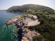 a feast in a free place Porto Valitsa Halkidiki Greece, Greece Art, Theater, Beautiful Places, Culture, River, Sea, Outdoor, Porto