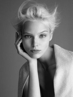 """ Sasha Luss @ Women Management by Luigi & Daniele Iango for Exhibition Magazine """