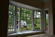 bay window with cottage sides interior view— Renewal by Andersen