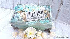 Cherish Little Things Mixed Media Box