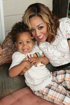 tia mowry and her son cree!! awwww