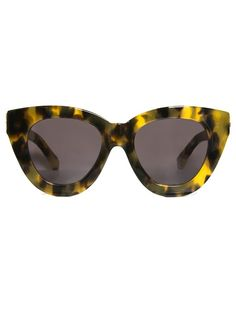 Karen Walker Eyewear  Anytime - Crazy Tortoise  $280.00