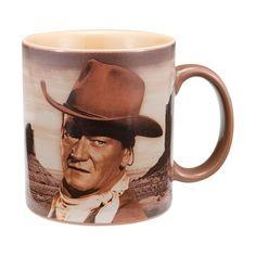 """John Wayne """"A Mans Gotta Do"""" 12oz Coffee Mug"""