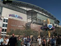 Chase Field in Phoenix AZ -- Home of the Arizona Diamondbacks