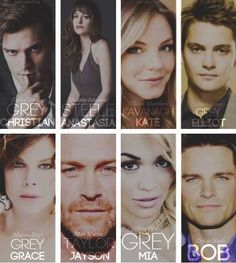 Fifty Shades Of Grey Movie --- still unsure about a LOT of this casting. @Shaye0Chey