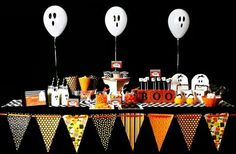 Mesa dulces halloween
