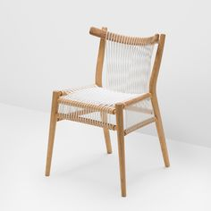 Competition! We're offering readers the chance to win one of three elastic woven Loom Chairs by furniture brand H.