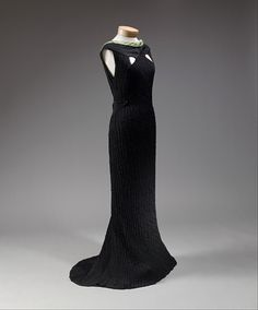 Dinner DressElsa Schiaparelli, 1934The Metropolitan Museum of...