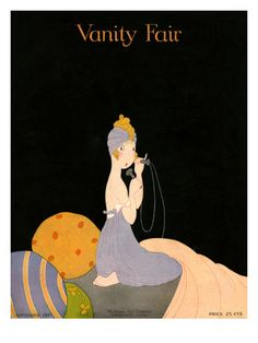 Vanity Fair Cover - September 1917 Poster Print by Ethel C. Taylor at the Condé Nast Collection