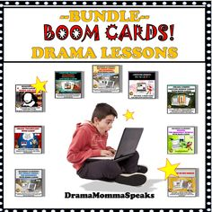 What happens when you combine drama with digital task cards?  You get Boom Cards!  They are a terrific, new teaching method sure to help the busy drama teacher. School Resources, Classroom Resources, Learning Resources, Teacher Resources, Classroom Decor, Teaching Methods, Teaching Activities, Teaching Ideas, Drama Teacher
