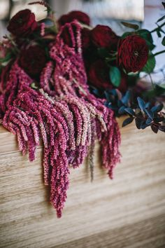 Gorgeous shades of pink and red in these amaranth flowers for our woodsy bohemian wedding. Woodsy Wedding, Forest Wedding, Floral Wedding, Wedding Flowers, Peonies Bouquet, Pink Bouquet, Bride Bouquets, Bridesmaid Bouquet, Amaranth Flower