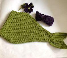 Crochet Baby Mermaid PATTERNBaby Mermaid Outfit by SueStitch, $3.50