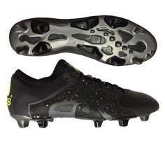 the best attitude 8a622 e1989 The black Adidas X 15.1 FGAG soccer cleats help you create chaos on the
