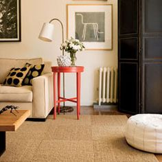 Consider Creating an Area Rug with Carpet Tiles :: Building Moxie